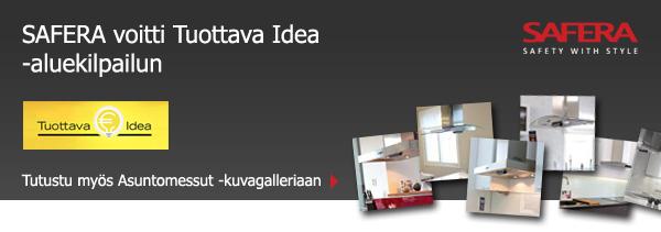 SAFERA voitti Tuottava Idea -aluekilpailun
