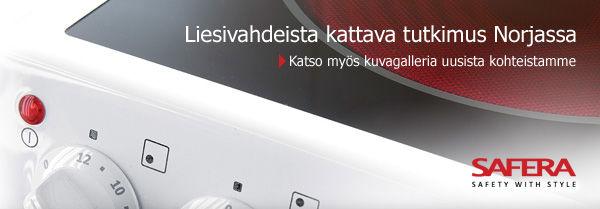 Liesivahdeista kattava tutkimus Norjassa