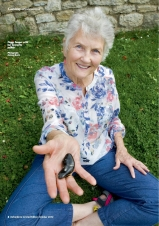 Picture of Peggy Seeger from Oxford Times Limited Edition magazine