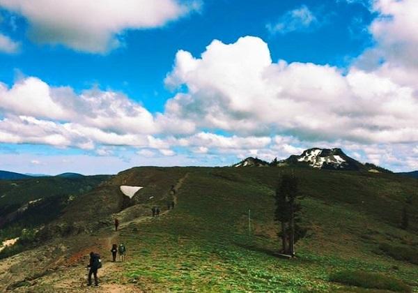 CROSSING is underway. Scouting in the San Bernardino Mountains
