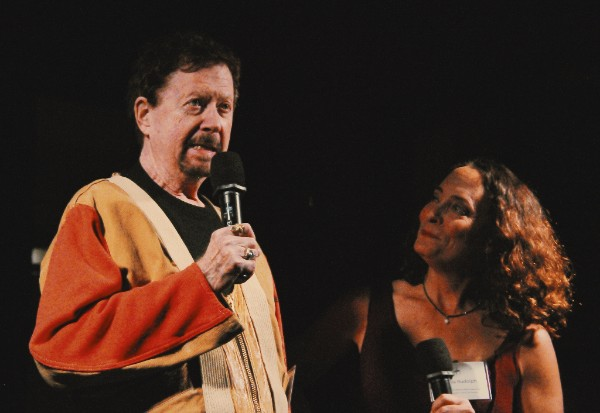 Tom Robbins and Amelia Rudolph