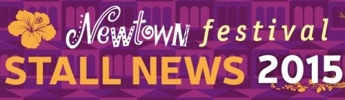 Newtown festival stall news logo