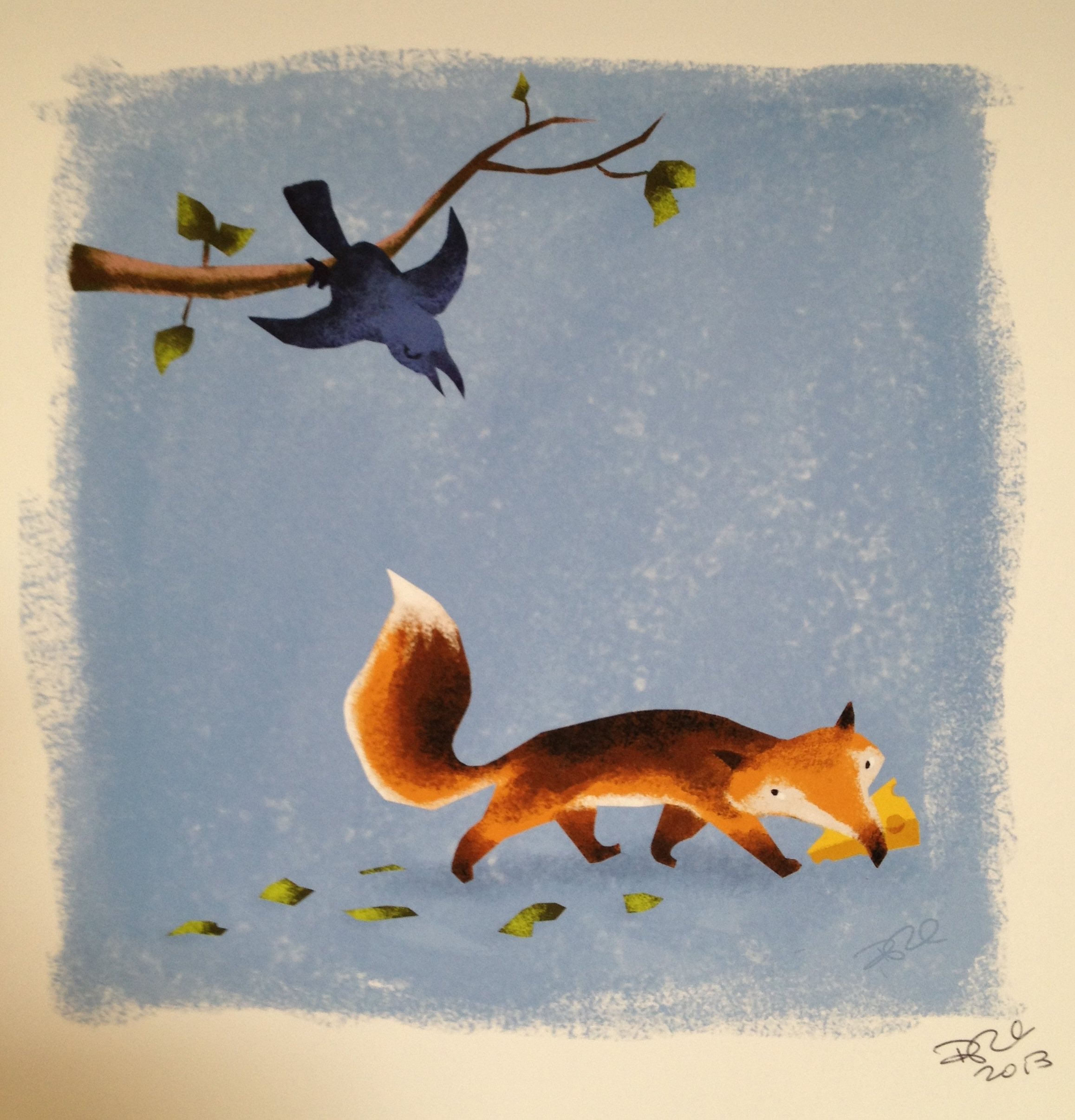 """Fox and Crow"" by David DePasquale"