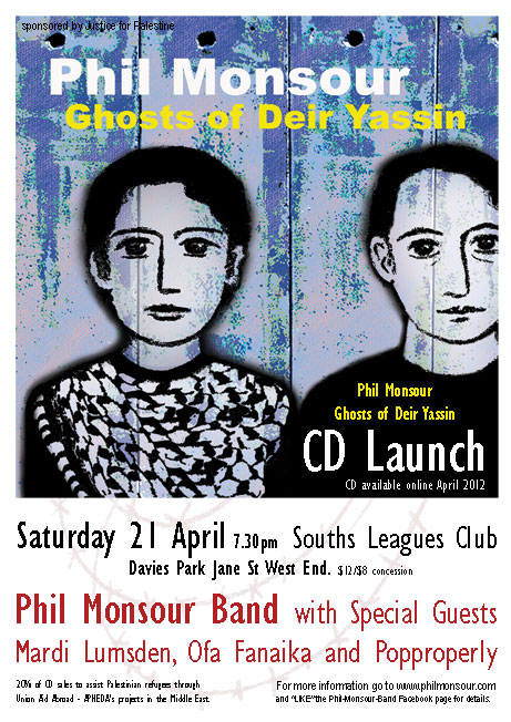 Phil Monsour CD Launch 21 april