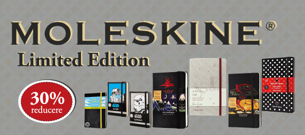 Moleskine Limited Edition -30% pe carturesti.ro