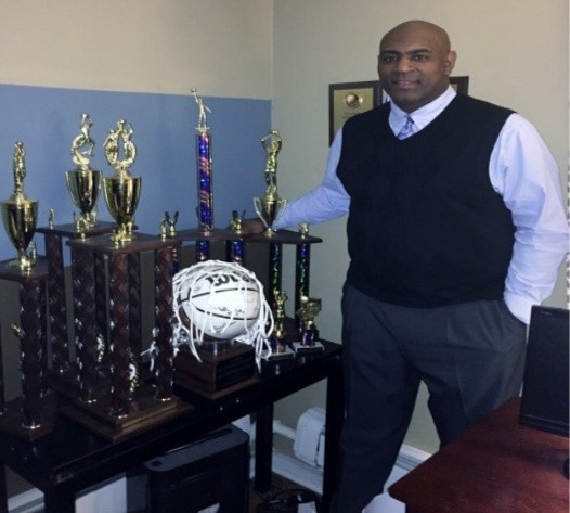 Coach Tony Wright