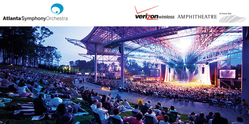A Salute to American Classics - The Atlanta Symphony Orchestra returns to Verizon Wireless Amphitheatre