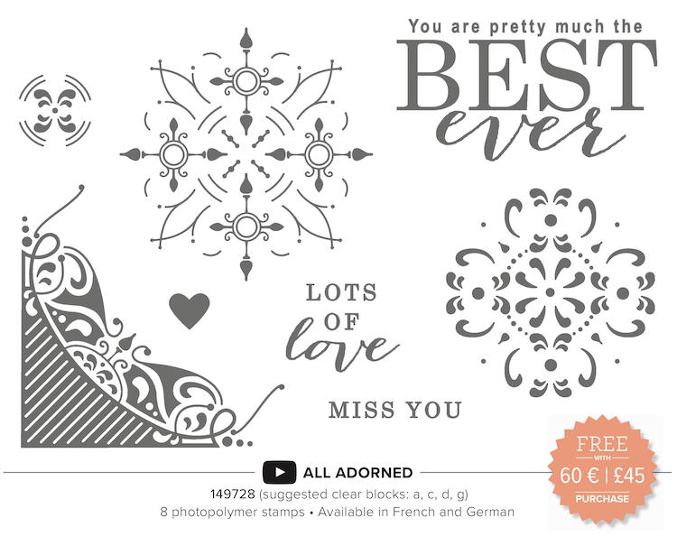 All Adorned Stampin Up