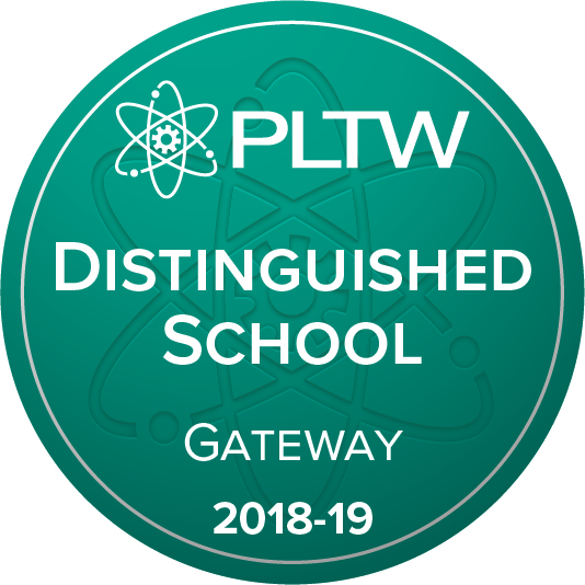 Project Lead the Way Distinguished School logo
