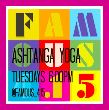 Famous4.15 Ashtanga Yoga