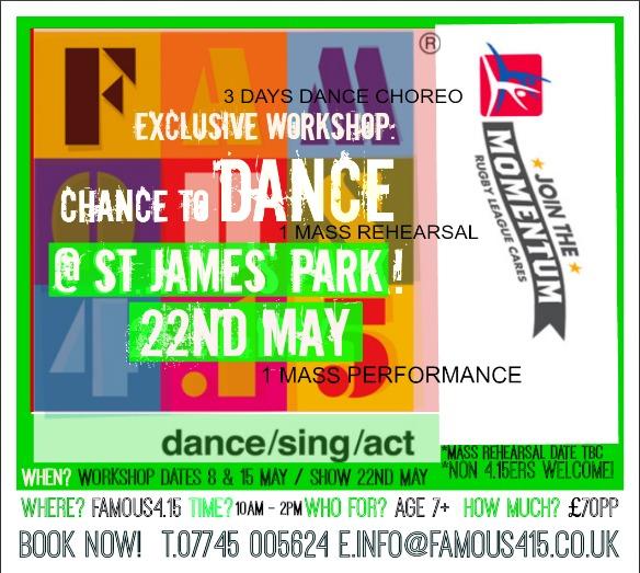 Famous4.15 St.Jame's Park Dance Event