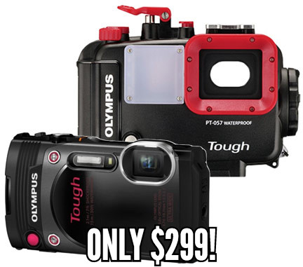 Oltmpus TG-830 & Housing $299!