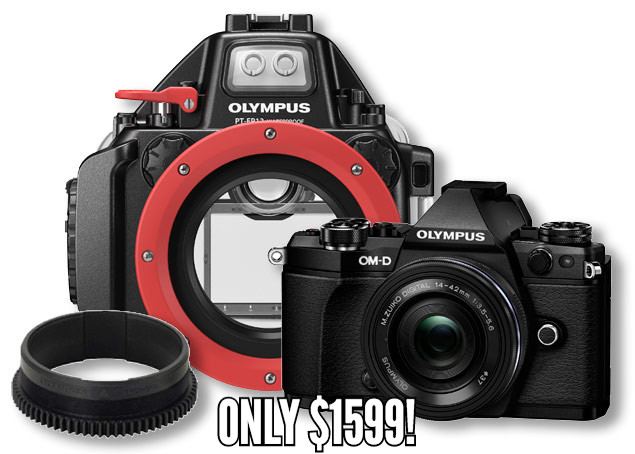 Olympus E-M5 MKII Bundle
