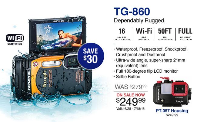 Olympus TG-860 on Sale