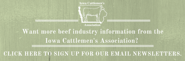 Want more info from the Iowa Cattlemen's Association? Sign up here!