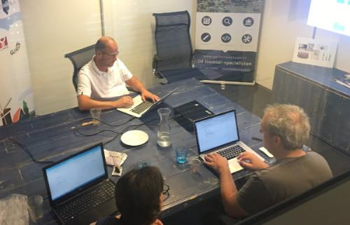 Website team werkt aan nieuwe Joomla!dagen website