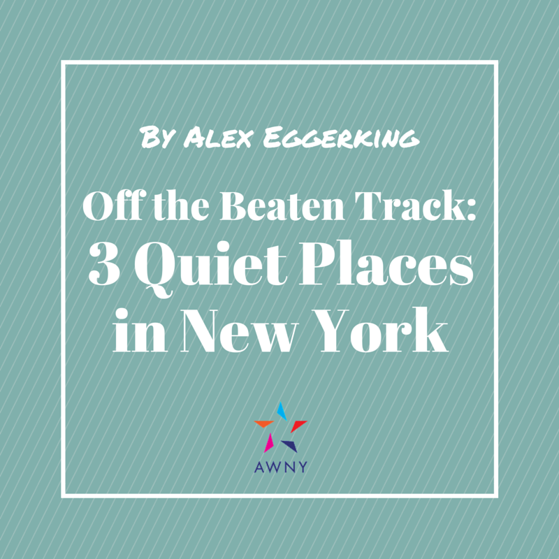 3 quite places in NYC
