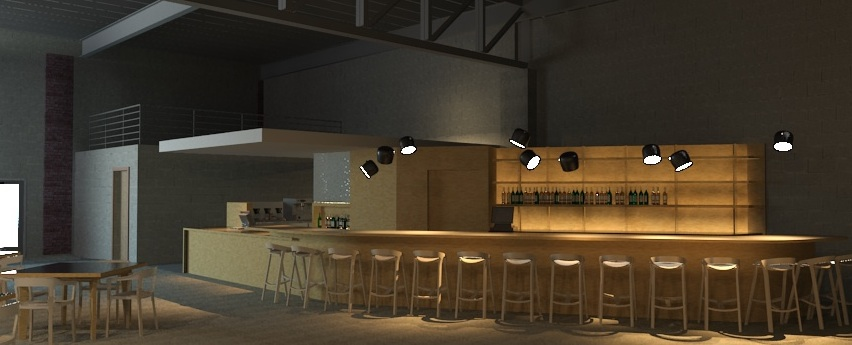 Cafe 78 rendering