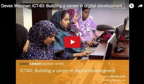 ICT4Djobs Webinar