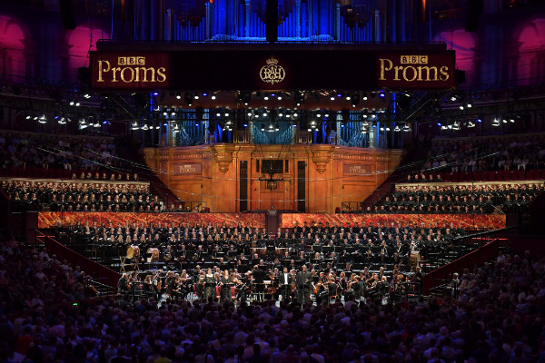 BBC Proms Youth Choir on stage