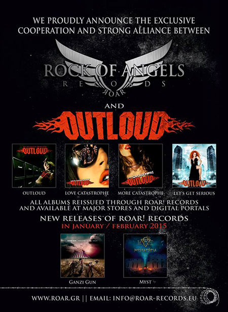 Rock of Angels Records and OUTLOUD