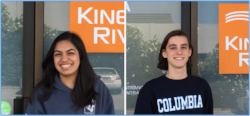Kinetic River interns summer 2017
