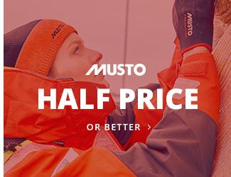 Musto Half Price