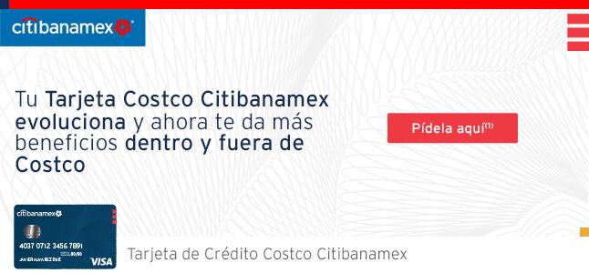 Tu Tarjeta Costco Citibanamex evoluciona y ahora te da más beneficios dentro y fuera de Costco