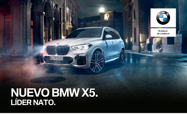 NUEVO BMW X5. LÍDER NATO.