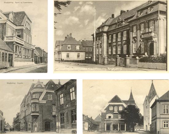 Sparekassen, Kreditforeningen, Nørrehus og Priorgården