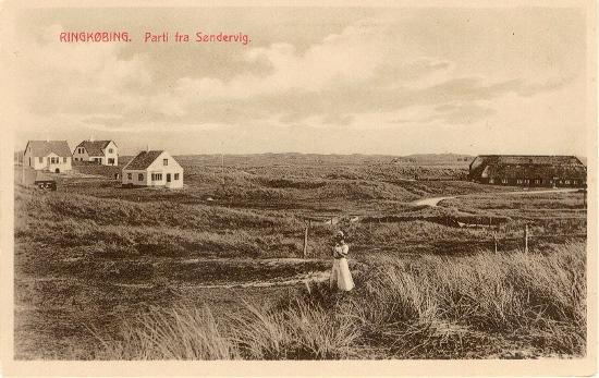 Søndervig ca. 1910
