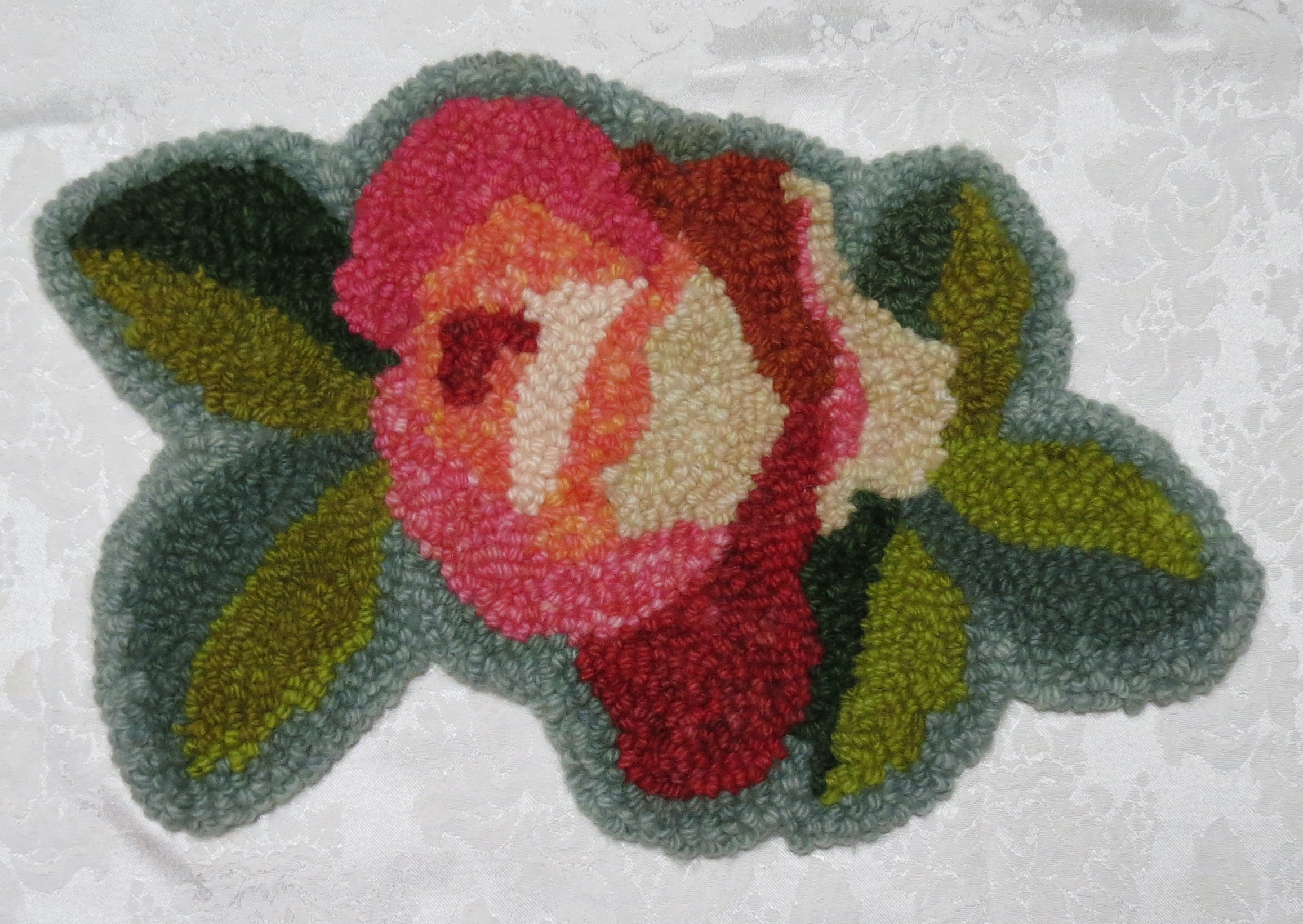 Flower Punched Rug