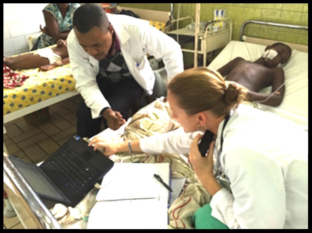 Nicole O'Brien in Congo