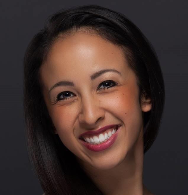 Image of Jenna Herrera, the guest teacher, smiling