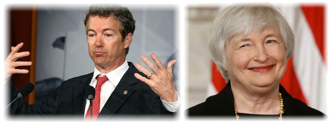 Rand Paul vs. Janet Yellen