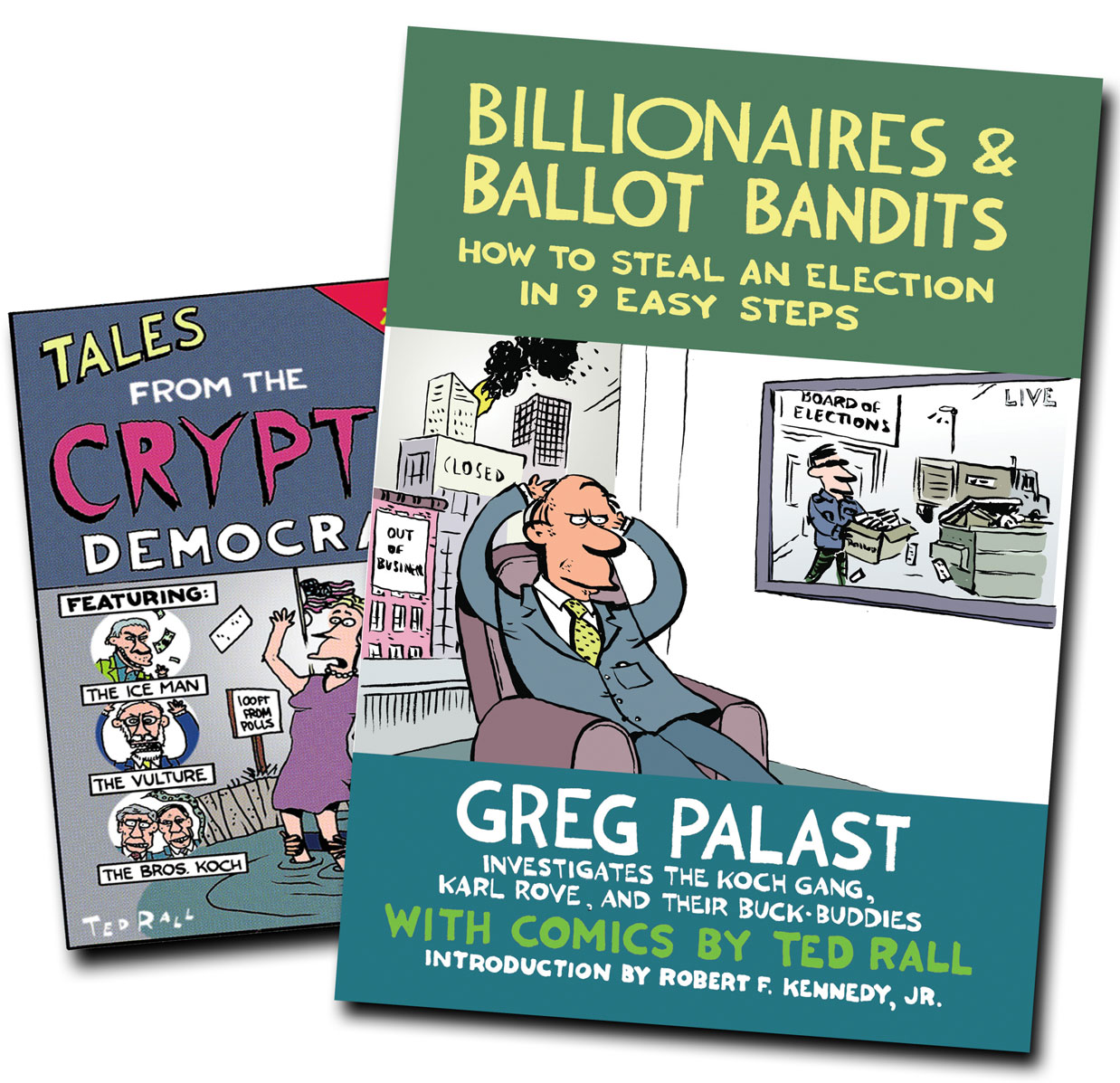 Greg Palast Introduces His New Book, 'Billionaires & Ballot Bandits'
