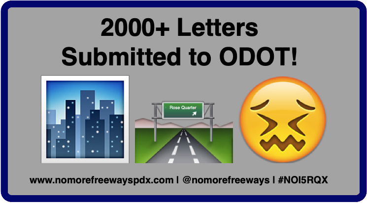 "button says ""2000+ comment submitted to ODOT!"""