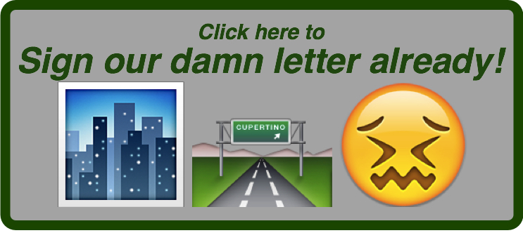 Image asks reader to sign our petition in support of decongestion pricing.