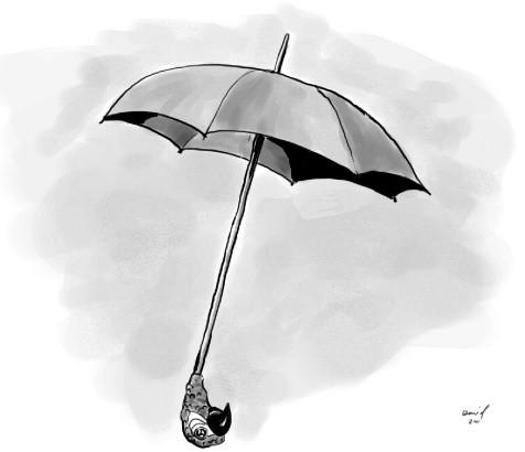 Mary Poppins' umbrella