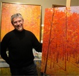 Ken Elliot in the studio