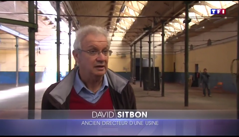 L'USINE VIVANTE : reportage télé