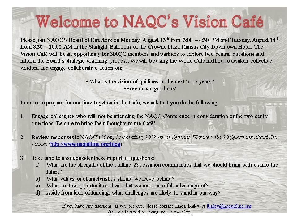 NAQC Conference