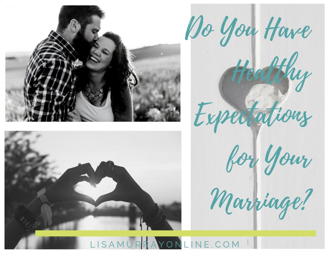 Marriage Expectation Worksheet