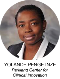 Yolande Pengetnze, Parkland Center for Clinical Innovation