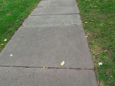 Medina Sandstone Sidewalk Slabs