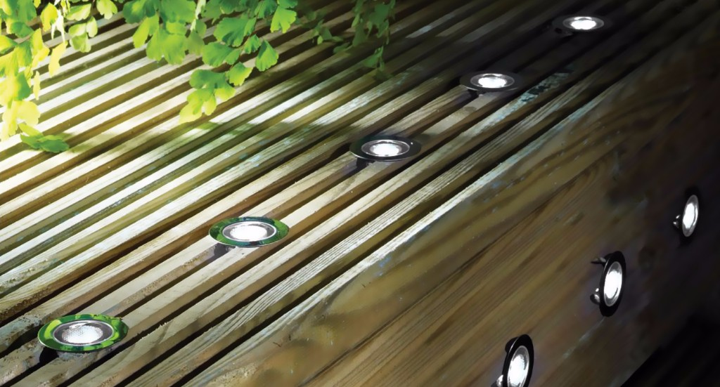 Recessed Decking Light
