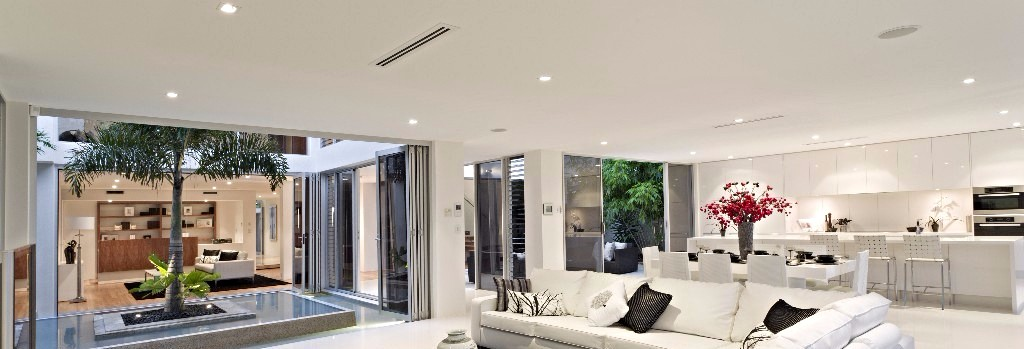 LED Downlights in situ