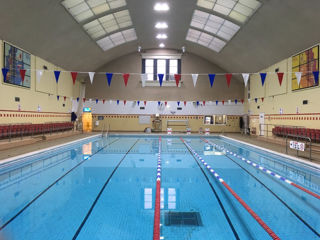 Stokewood Leisure Centre swimming pool