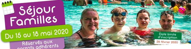 Sejour familles organisés par l'Association Francaise du syndrome de rett