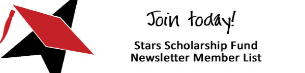 Stars Scholarship Fund Newsletter Member List